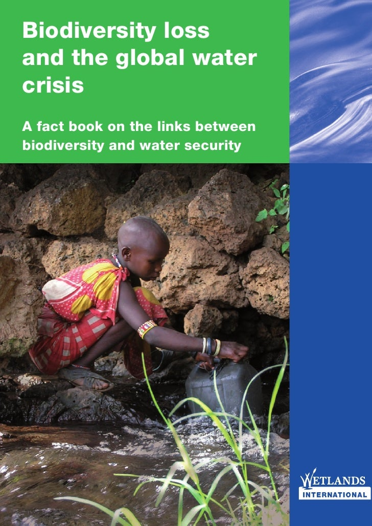 Biodiversity loss and the global water crisis A fact book on the links between biodiversity and water security