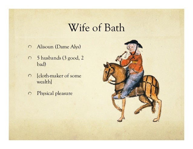 Essay questions for the wife of bath tale