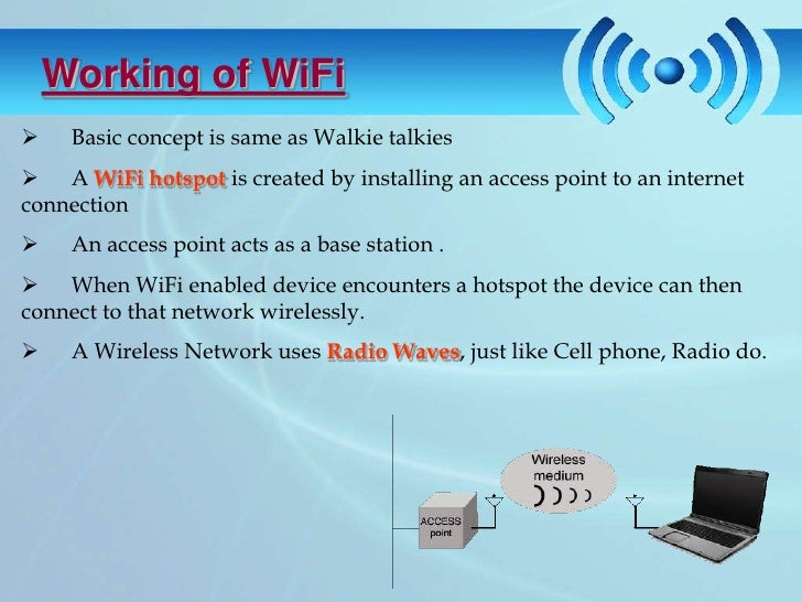 wireless fidelity Page 1 originally published on the ieee emerging technology portal, 2006 - 2012 visit: wireless fidelity—wifi.