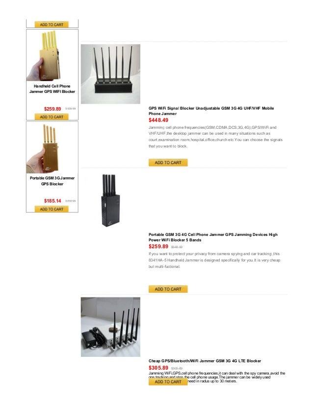 Bluetooth/WiFi Signal Blocker,Wireless Jammer