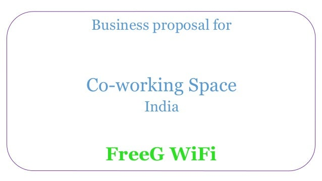 Wi fi hotspot solutions coworking space