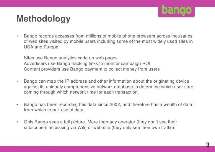 Bango WiFi Market Data 1 Q09