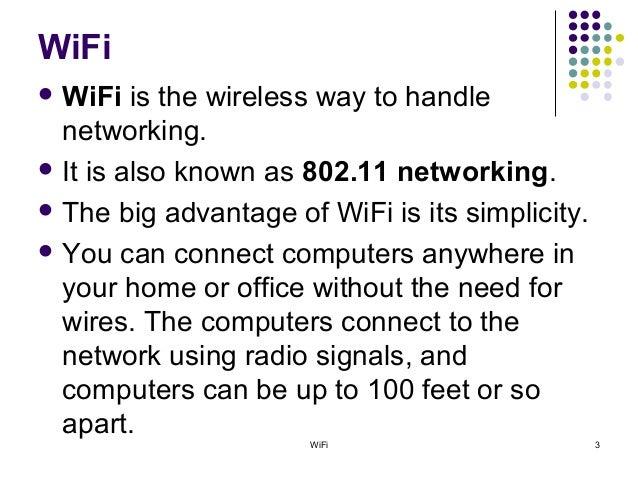 Wi Fi Ppt By Mayank Saxena