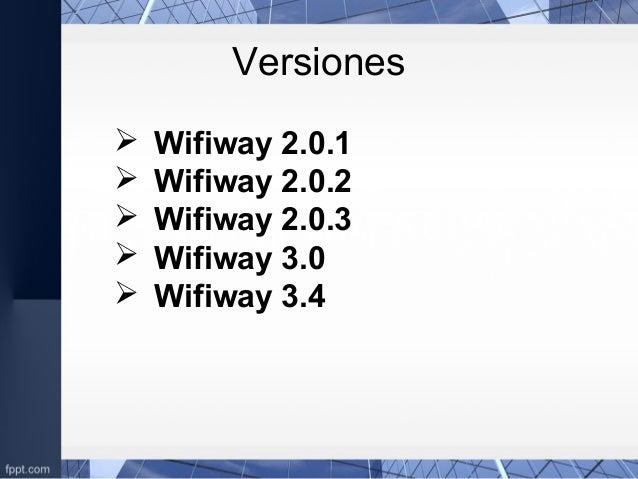 WIFIWAY 2.0.3 TÉLÉCHARGER