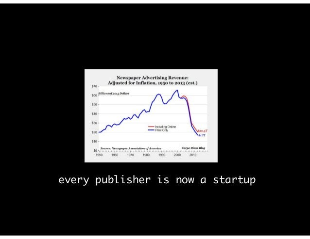 every publisher is now a startup
