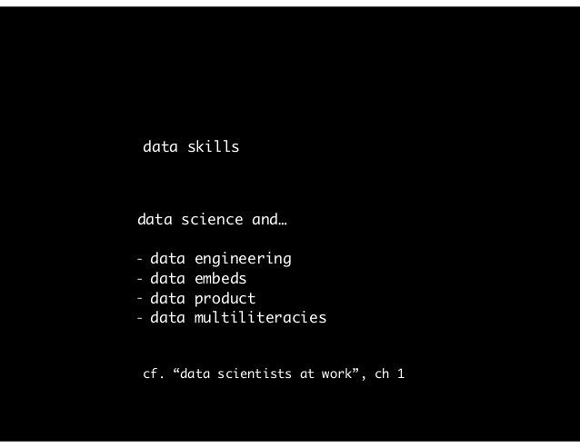 data science: people