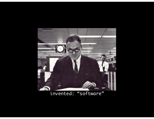"""invented: """"software"""""""