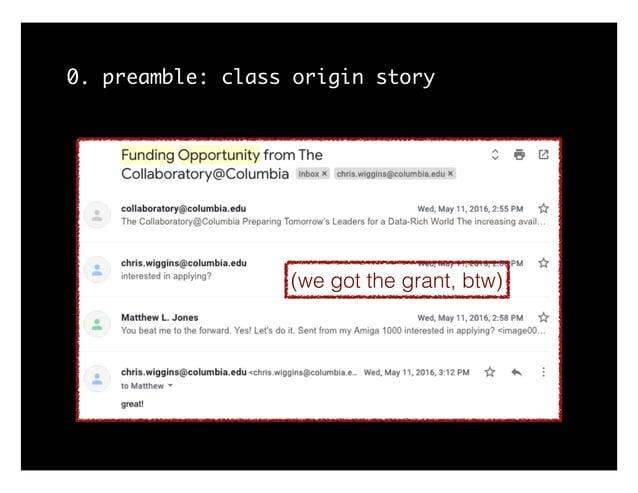 0. preamble: class origin story (we got the grant, btw)