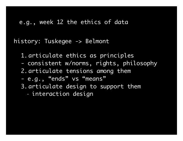 """e.g., week 12 define + design for ethics reminder: """"design is the intentional solution to a problem within a set of constr..."""