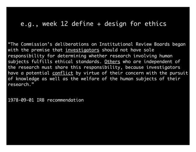 e.g., week 13 (present) problems