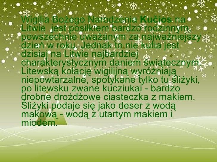 Wigilia Litwa