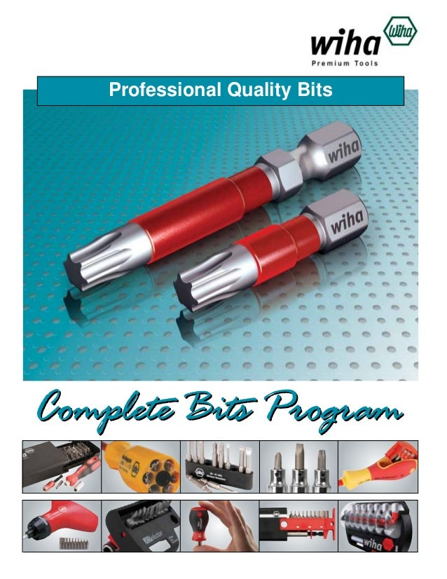 Professional Quality Bits  Complete Bits Program