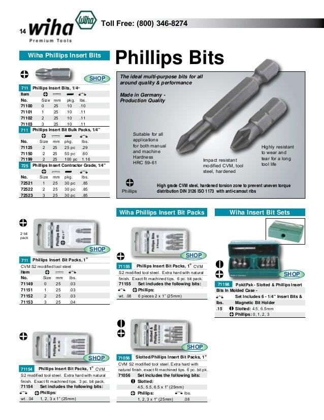 Wiha 71607 TorxPlus® Insert Bit IP7 x 25mm 10 pieces