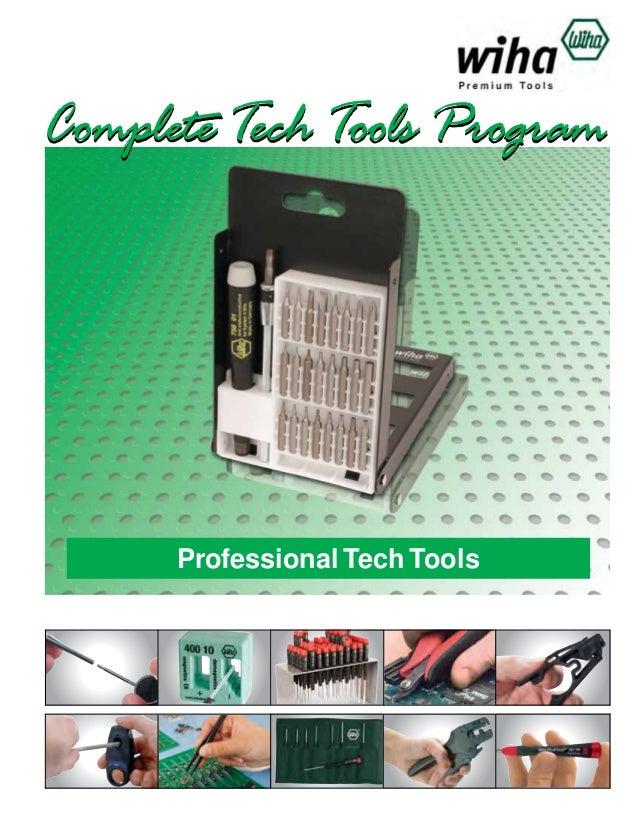 Complete Tech Tools Program  Professional Tech Tools