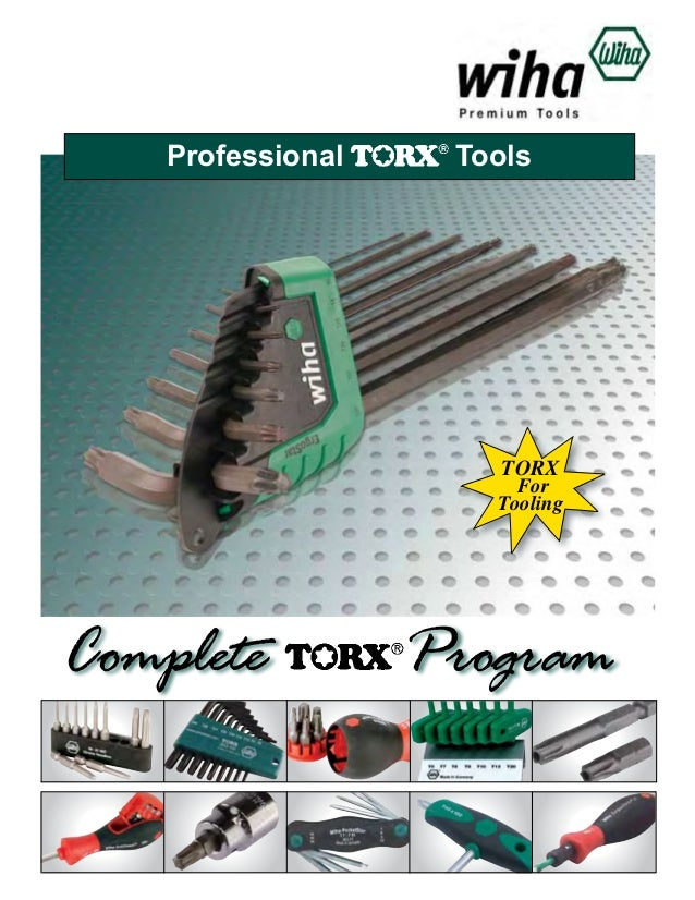 Professional  Tools  TORX  For Tooling  Complete  Program