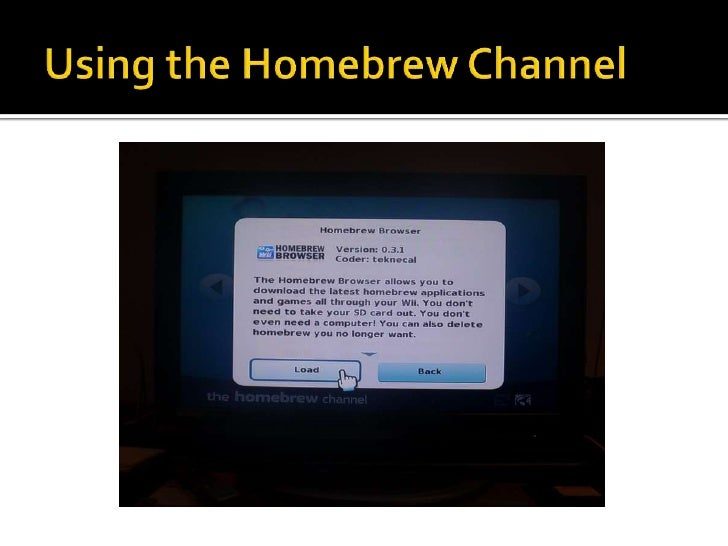 How to develop a homebrew application for Nintendo Wii