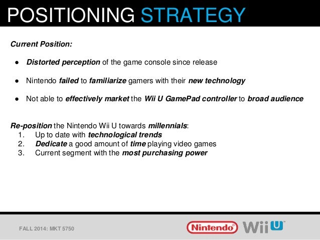 nintendo wii marketing strategy essay 57 distribution of regression coefficients for the wii model   surprisingly, a  similar generational marketing strategy is used by nokia, samsung and  hu, y , essays on the governance of agricultural products: cooperatives and contract.