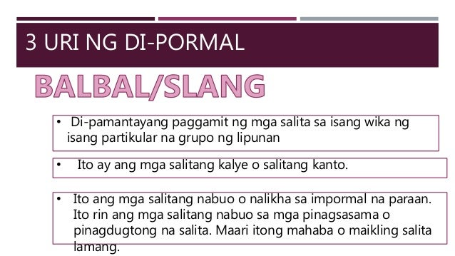 5 malalalim na nga salita 5 tikal(v)/tikalon(adj)  hmm mga words and phrases na lang nga commonly used eh para kung me magtalang or may gusto magpatudlo ilonggo.