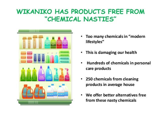 """• Too many chemicals in """"modern lifestyles"""" • This is damaging our health • Hundreds of chemicals in personal care product..."""