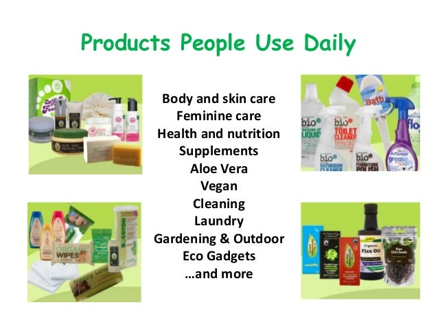 Products People Use Daily Body and skin care Feminine care Health and nutrition Supplements Aloe Vera Vegan Cleaning Laund...