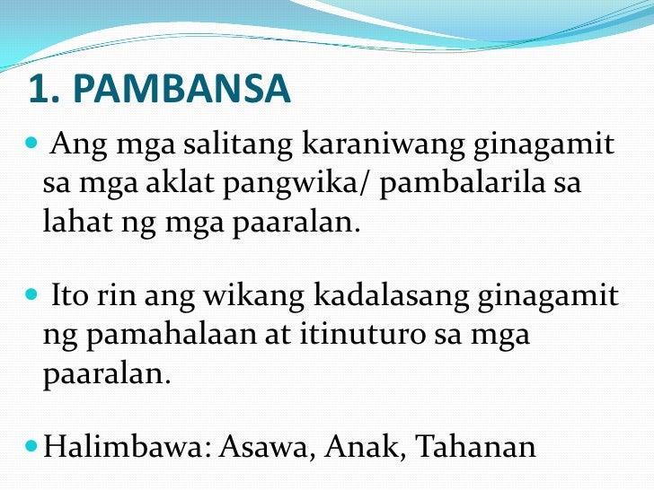 mga kasabihan sa wikang tausug at ang kahulugan nito Samantala, sa makaluma o pang-tradisyunal na kahulugan ang bubuyog sa sa mga binata at dalaga, ang bubuyog sa panaginip ay may kasabihan sa wikang.