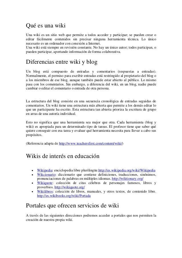 http wiki