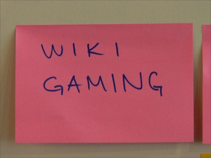 Wiki Gaming
