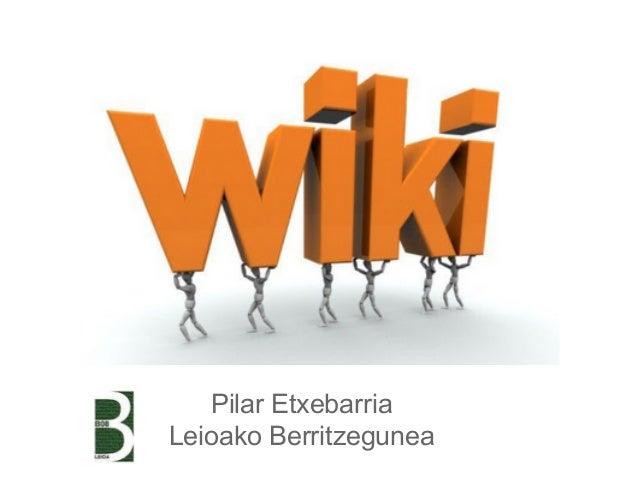Pilar Etxebarria Leioako Berritzegunea
