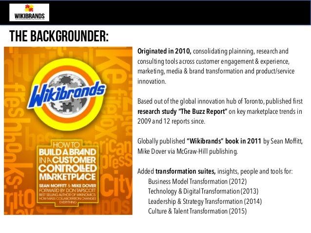 Wikibrands 2018 Focus - Futureproofing & Transformation  Slide 2
