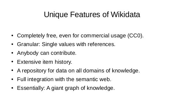 Issues with chemical data in the Wiki space ● Incorrect identifiers in info boxes or on Wikidata items ● Incorrect chemica...