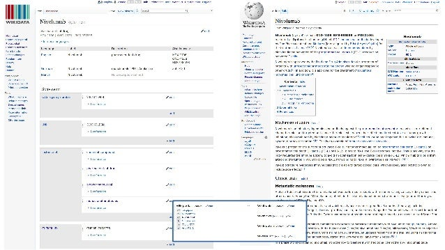 Wikidata items ● Two types of entities – Properties (Pxxxx): ● Describe the nature of a data value ● Different data types ...