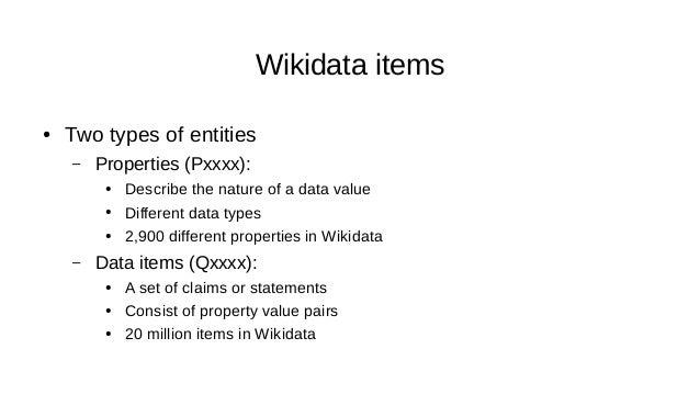 A Wikidata Statement