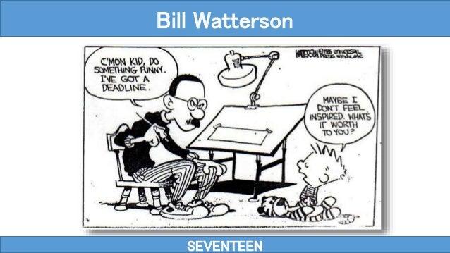 SEVENTEEN Bill Watterson
