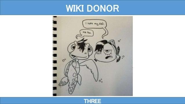 THREE WIKI DONOR