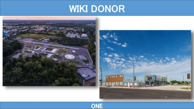 ONE WIKI DONOR