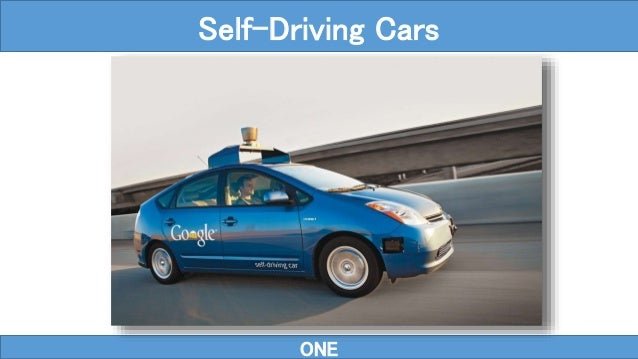 ONE Self-Driving Cars