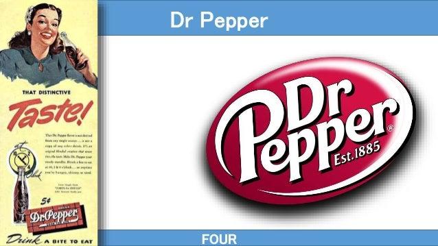 FOUR Dr Pepper