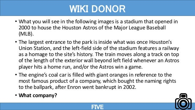 • What you will see in the following images is a stadium that opened in 2000 to house the Houston Astros of the Major Leag...