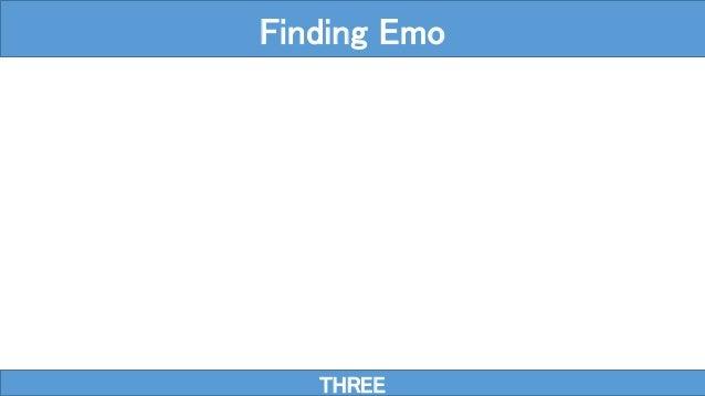 THREE Finding Emo