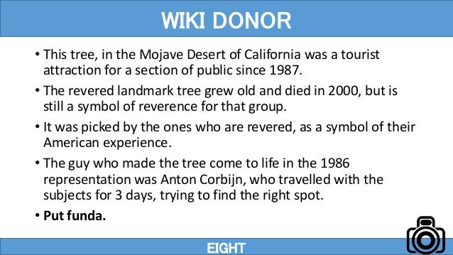 • This tree, in the Mojave Desert of California was a tourist attraction for a section of public since 1987. • The revered...