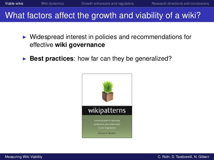 Measuring Wiki viability Slide 2