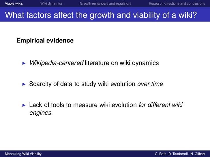 Measuring Wiki viability Slide 3