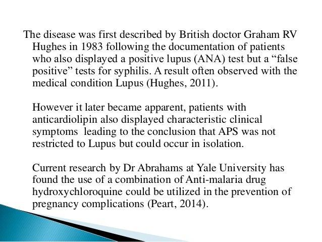 Pathogenesis of Antiphospholipid syndrome