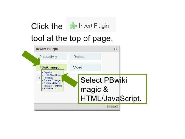 Wiki Instructions Pics