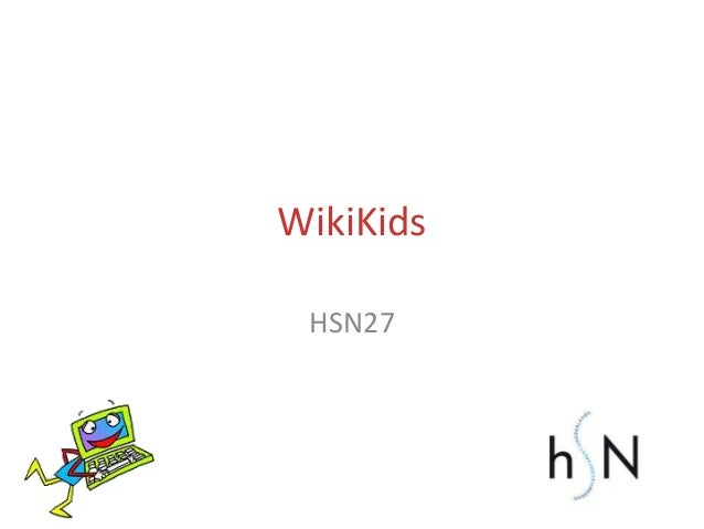 WikiKids HSN27