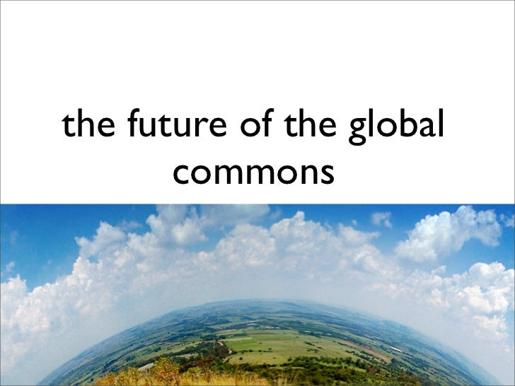 """the future of the global        commons Wikipedia, Creative Commons, """"piracy"""" and the WIPO                 Development Age..."""