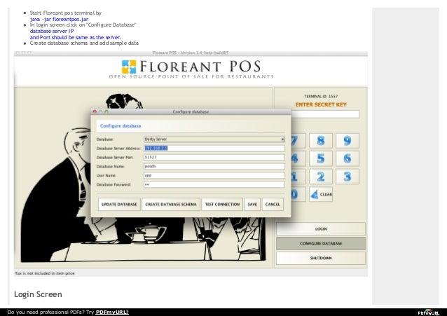 Wiki manual floreantpos_1 4_56
