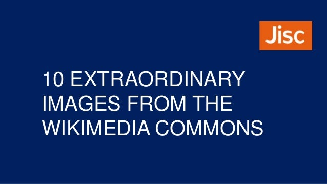 10 EXTRAORDINARY IMAGES FROM THE WIKIMEDIA COMMONS