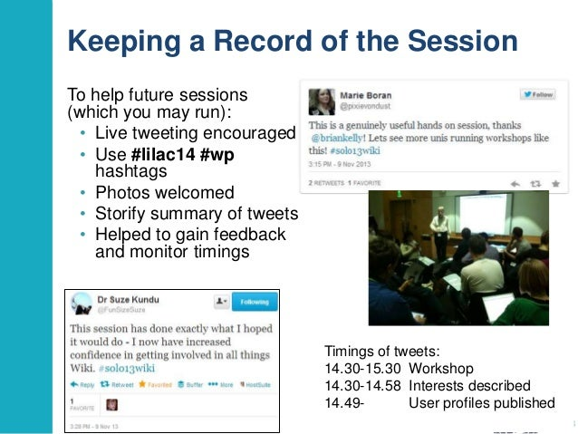 Getting to Grips with Wikipedia: a Practical Session Slide 3