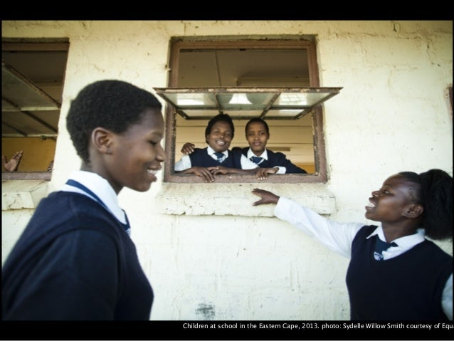 Children at school in the Eastern Cape, 2013. photo: Sydelle Willow Smith courtesy of Equal Education